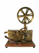 stock photo of telegram  - An Original antique telegraph - JPG