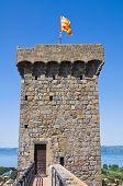 Castle of Bolsena. Lazio. Italy.