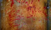 Grunge Painted Metal Texture Or Background