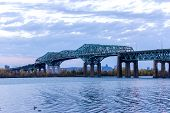 Champlain Bridge Of Montreal