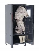 Soldier Gear In Locker