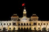 The City Hall Of Ho Chi Minh Vietnam