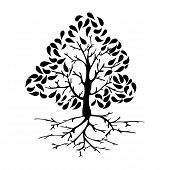 Tree Icon Silhouette