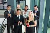 image of award-winning  - successful business team winning an award - JPG