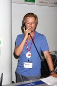 LOS ANGELES - JUL 3:  David Spade clerks at K-Mart to support March of Dimes and promote the