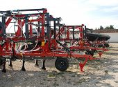 Rear Of Agricultural Seeders
