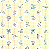 24_baby Seamless Wallpaper