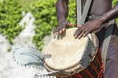 Musician Playing Drum