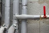 Pipes In Bathroom