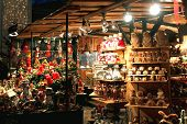 SALZBURG, AUSTRIA - DECEMBER 13, 2012: Salzburger Chriskindlmarkt.