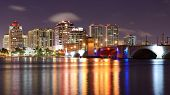 West Palm Beach, Florida, USA skyline.