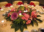 Wedding Banquet Table Decor
