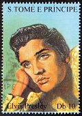 Presley S.tome Stamp#1