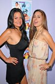 Lisa Solomon and Kerri Kasem at the dual screenings of