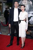 Rupert Sanders and Liberty Ross at a screening of