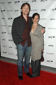 Sean Doyle and Allegra Fulton  at a Gala in Honor of Norman Jewison. LACMA, Los Angeles, CA. 04-17-0