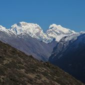 Majestic mountain in the Annapurna Conservation Area