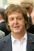 Sir Paul McCartney  at the ceremony posthumously honoring George Harrison with a star on the Hollywo