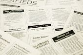 Jobs Search On Classifieds And Newspaper