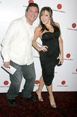 Scott Montoya and Jill-Michele Melean at a Special Screening Of 'The Hot Tamales Comedy Special' pre