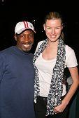 Glenn Plummer and Andrea Harrison at Jennifer Blanc's Birthday Party. Amagi Night Club, Hollywood, CA. 04-21-09