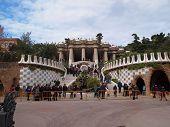 Park Guell entrance, Barcelona