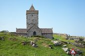St. Clement's Church At Rodel, Isle Of Harris