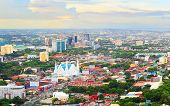 stock photo of cebu  - Panorama of Cebu city - JPG