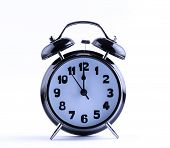 Alarm Clock  With Twelve O'clock
