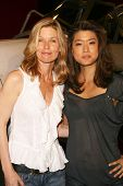 Kate Vernon and Grace Park at 'Battlestar Galactica' Auction Preview Day and Actor Panel. Pasadena Convention Center, Pasadena, CA. 05-07-09