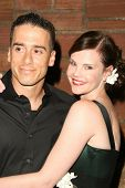 Kirk Acevedo and Kiersten Warren  at the Australians In Film 2009 Breakthrough Awards. Hollywood Roo
