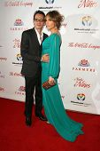 Marc Anthony and Jennifer Lopez  at the 2009 Noche De Ninos Gala. Beverly Hilton Hotel, Beverly Hill