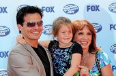 Antonio Sabato Jr and daughter Mina  at the 'American Idol' Grand Finale 2009. Nokia Theatre, Los Angeles, CA. 05-20-09