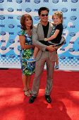 Antonio Sabato Jr and daughter Mina  at the 'American Idol' Grand Finale 2009. Nokia Theatre, Los An