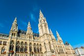 The City Hall of Vienna, Austria