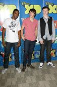 Daniel Curtis Lee with Hutch Dano and Adam Hicks at the Disney And ABC Television's 'DATG Summer Press Junket'. Riverside Building, Burbank, CA. 05-30-09