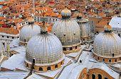 domes, San Marco Basilica in Venice
