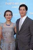 Andy Samberg and Joanna Newsom at the