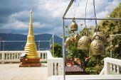 Thai Bells in Temple