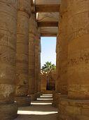 Karnak Temple Pillars