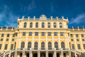 pic of schoenbrunn  - Vienna, Austria - Schoenbrunn Palace, a UNESCO World Heritage Site ** Note: Slight blurriness, best at smaller sizes - JPG