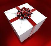 Giftbox Birthday Indicates Congratulating Giving And Present