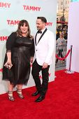 LOS ANGELES - JUN 30:  Melissa McCarthy, Ben Falcone at the