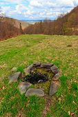 lost hearth on mountains meadow