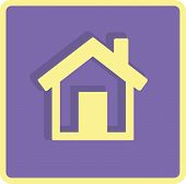 Flat Vector Home Icon