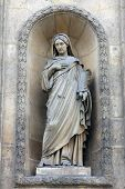 PARIS, NOV 07: Eugenie, Countess of Teba, church of St. Elizabeth is situated in the 3rd arrondissem