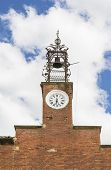 Church tower with clock