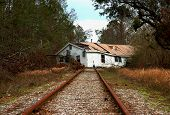 House On RR Tracks