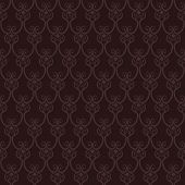 Seamless Brown Wallpaper Pattern.