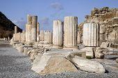 Ancient Greek Town Of Ephesus In Turkey